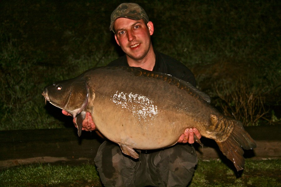 Johns new PB @ 36lb from The Dell