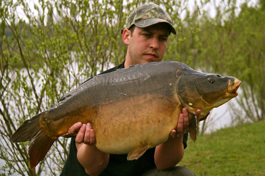 A 27lb 3oz Mirror to end a great session