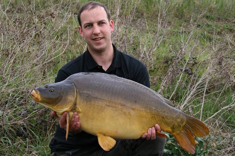 Johns new PB @ 29lb 12oz from The Dell
